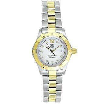 waf1425.bb0814 aquaracer diamante del reloj tag heuer de l