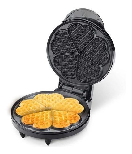 wafflera eléctrica home elements