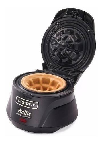 waflera belga canastilla bowl rellenos presto 03500