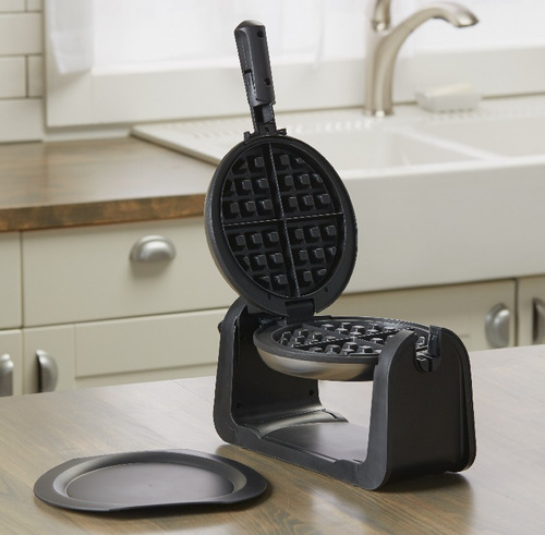 waflera electrica black & decker acero inoxidable wafles