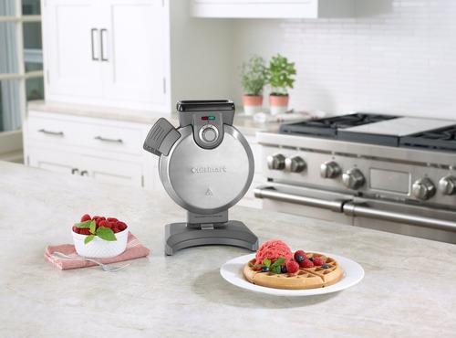 waflera eléctrica vertical waffles bel cuisinart waf-v100es