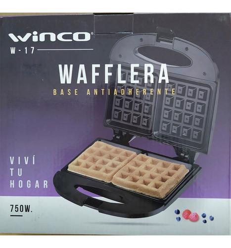waflera electrica winco w-17 100% original, modelo 2020 !!