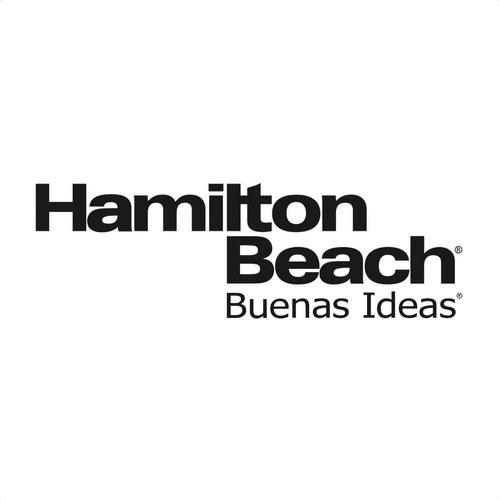waflera giratoria wafle redondo hamilton beach modelo 26010r