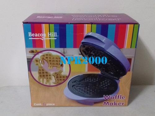 waflera maquina de wafles con figuras animalitos beacon hill