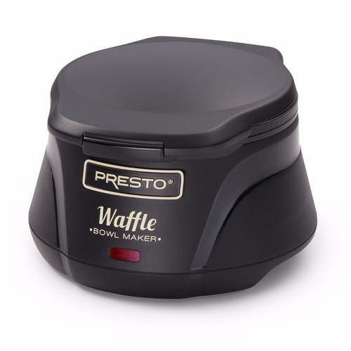 waflera presto en forma de tazon o canasta+envio gratis