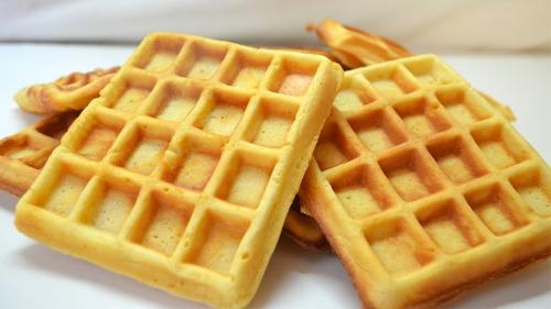 waflera profesional antiadherente ¡ wafles en 5´ ! + recetario