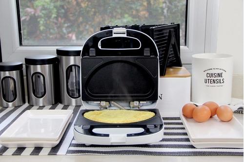 waflera sandwichera eléctrica 5 en 1 peabody pe-sw6141 full