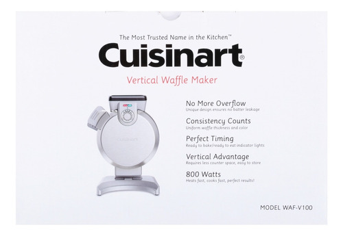 waflera vertical cuisinart waf-v100