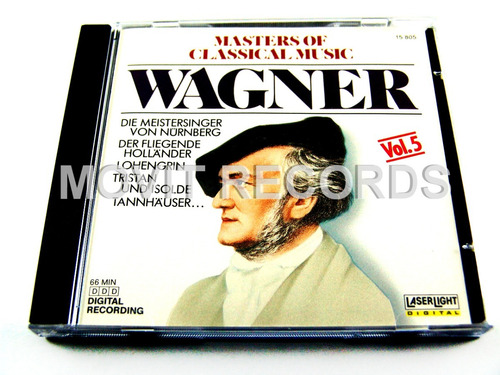 wagner masters of classical music vol 5 cd seminuev 1988 usa