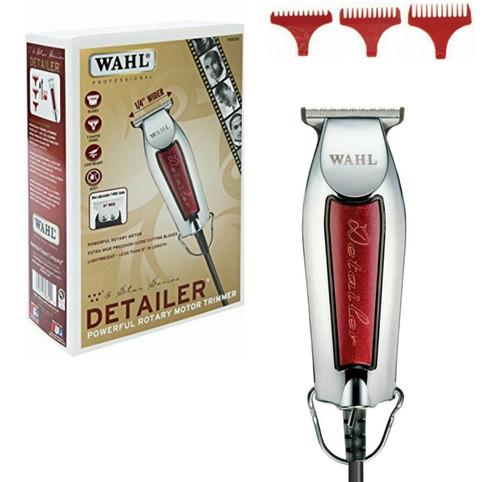 wahl combo 5 star magic clip+detailer máquina corta pelo pro