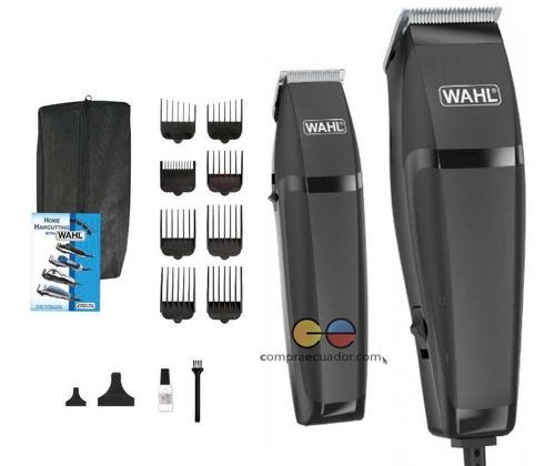 wahl cortador de cabello + 14 piezas + recortadora de barba