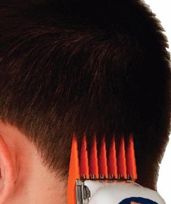 wahl cortador de cabello de 17 pzs. color pro peines
