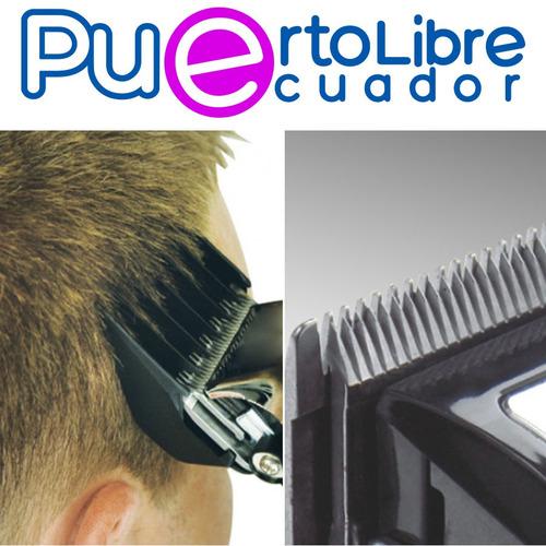 wahl cortador de cabello profesional + accesorios + estuche