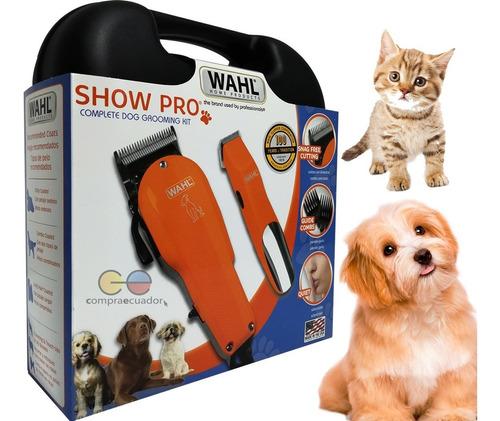 wahl cortador de pelo para mascotas cuchillas acero 11piezas