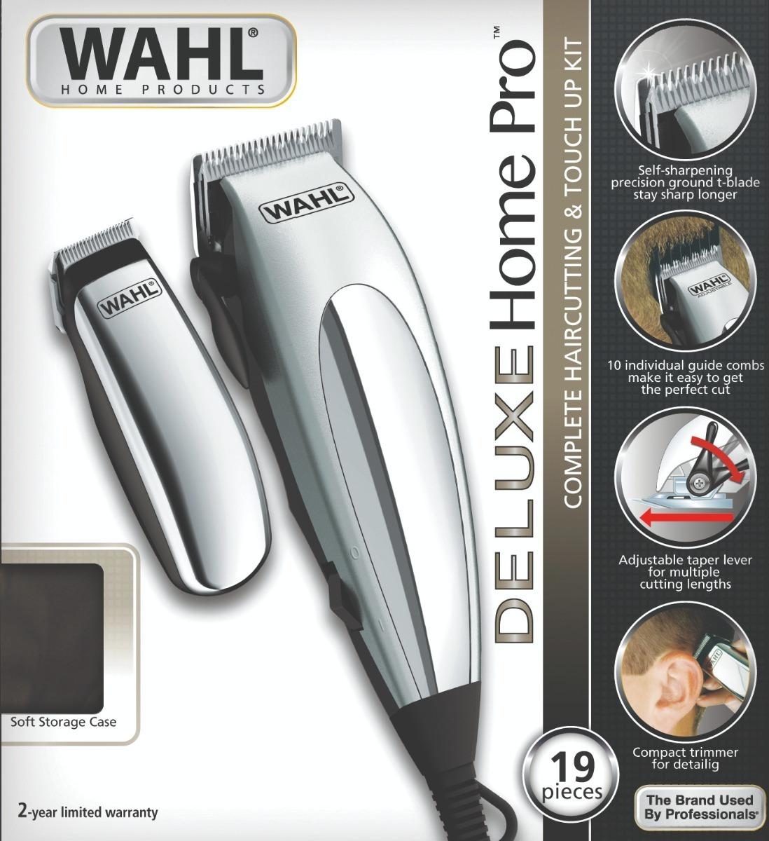 6291c3e7b wahl deluxe home pro 127v - kit cortar cabelo e aparador. Carregando zoom.