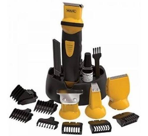 wahl kit grooming recargable all in one groomsman sport