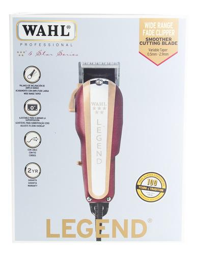 wahl legend fade clipper máquina cortadora pelo profesional