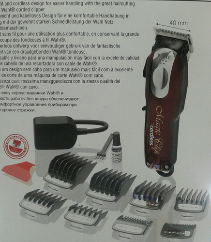 wahl magic clip inalambrica  5 estrellas.