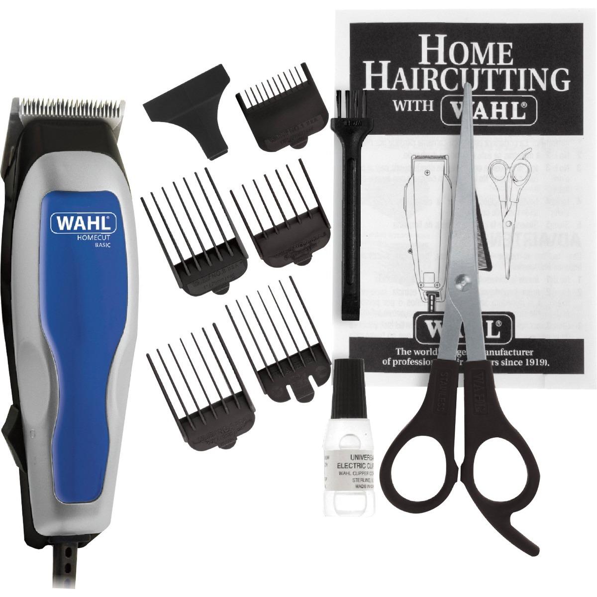 04e573ae8 wahl máquina de cortar cabelo home cut 9 pçs 220v original. Carregando zoom.