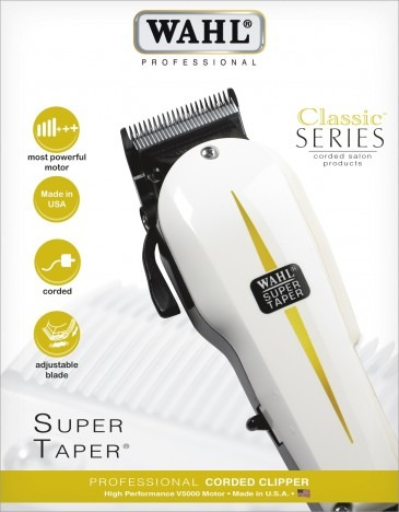82f99fbb0 Wahl Super Taper 220v - Maquina De Corte Profissional - R$ 419,00 em ...