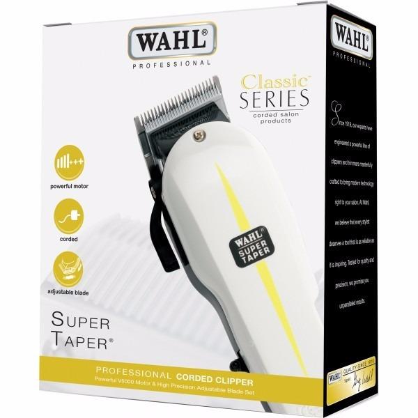 32c08c043 Wahl Super Taper V5000 Branca Escolha 110/220v - R$ 499,90 em ...