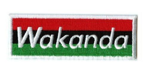 wakanda pantera negra patch bordado envio imediato