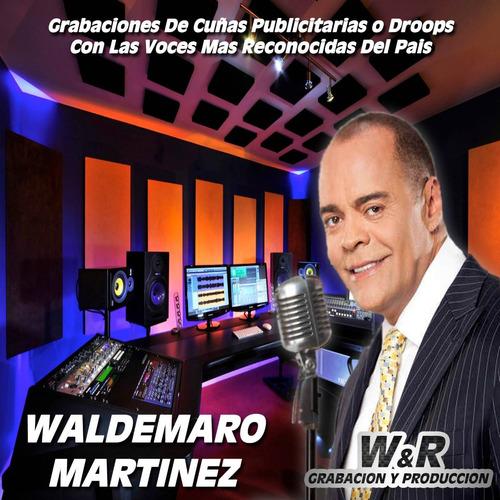 waldemaro martinez pack djs, jingles, voces, presentaciones