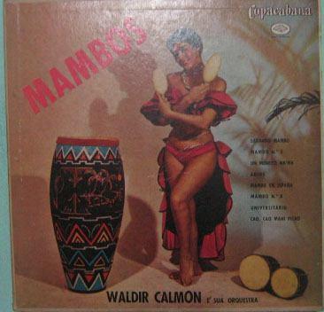 waldir calmon & sua orquestra - mambos - 10 polegadas