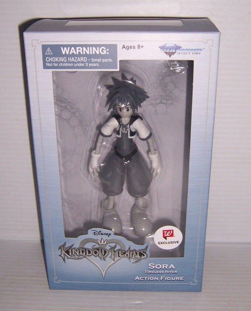 Disney Kingdom Hearts Sora Action Figure Timeless River Diamond Select Toys
