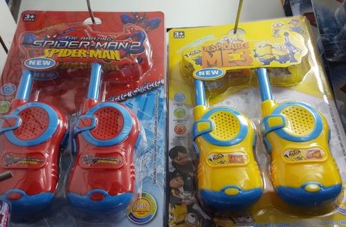 walk talk infantil vingadores avengers super heróis
