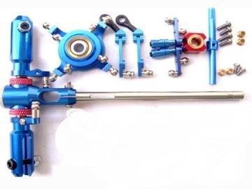 walkera #36  cnc blue metal main rotor system upgrade kit