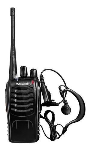 walkie takie 6 radios de comunicacion