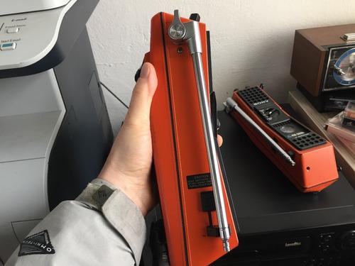 walkie talkie antiguo sony icb-300w
