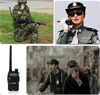 walkie talkie baofeng uv-5r 128ch 5w 100% original