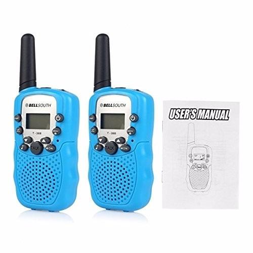 walkie-talkie bellsouth 22 canales uhf radio 3 km niños