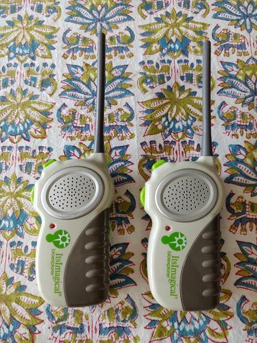walkie-talkie bioexplorer imaginarium