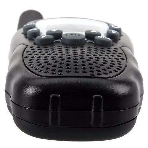 walkie talkie floureon uhf462-467mhz 22 canales rango 5 km