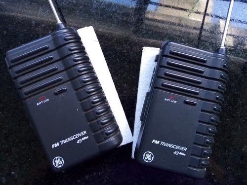 walkie talkie general electric pocket size mod 3-5946