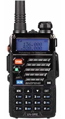 walkie talkie handy baofeng vhf uhf uv5r banda marina pocito