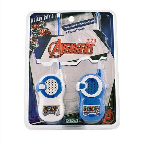 walkie talkie handy disney marvel avengers orig ditoys cuota