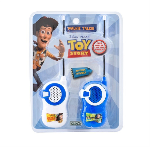 walkie talkie handy disney pixar toy story orig ditoys cuota