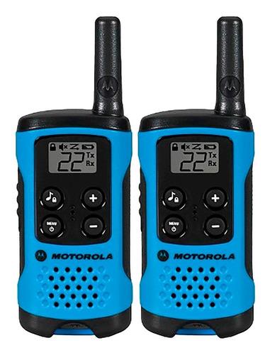 walkie talkie handy motorola 25km 22 canales 12 cuotas