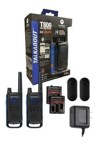 walkie talkie handy motorola t800 duo 56km ip54 bluetooth