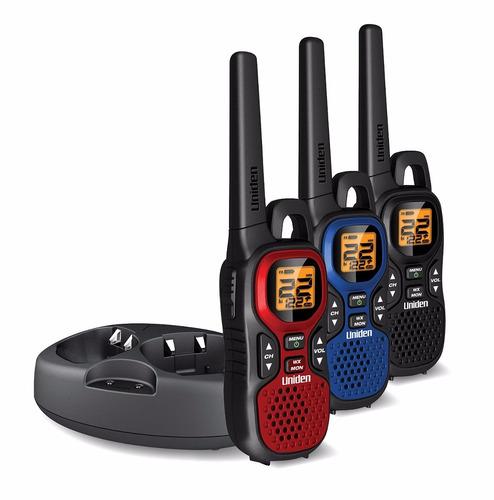 walkie talkie radio telefono uniden 59 km camping+envio grat