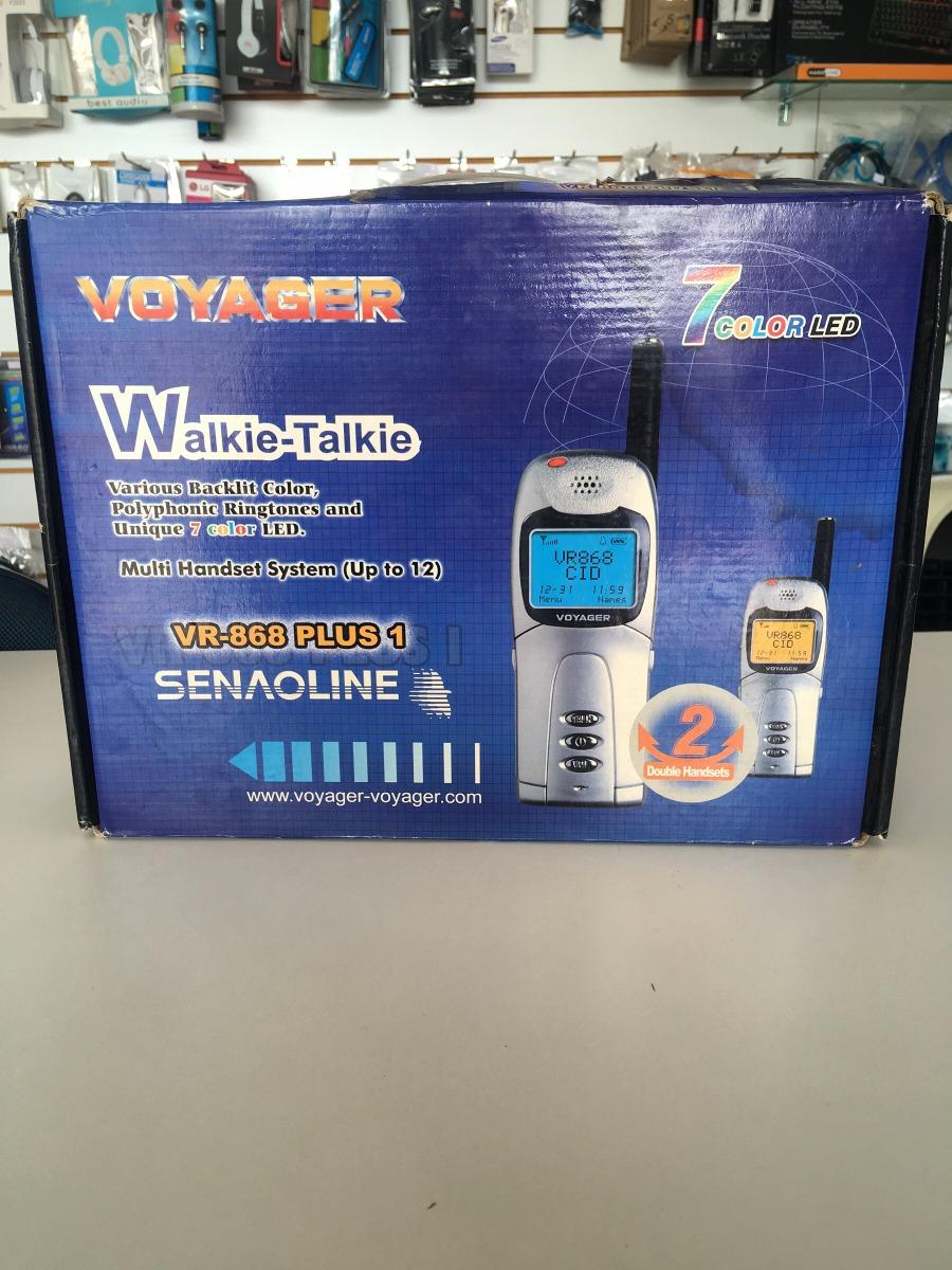 walkie talkie voyager r 120 00 em mercado livre