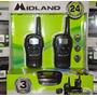 Radio Midland Lxt500vp3 Pack 2walkie Talkie Talkabout 39 Km