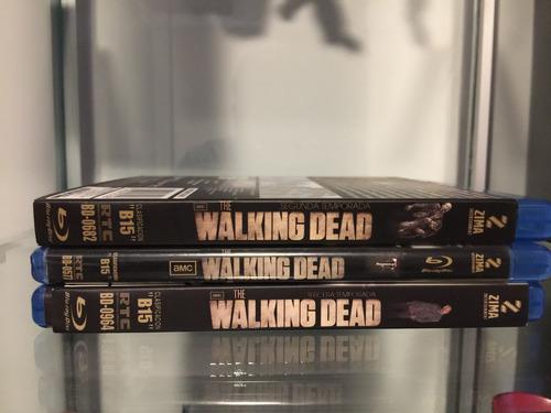 walking dead bluray temporadas 1, 2 y 3 como nuevo