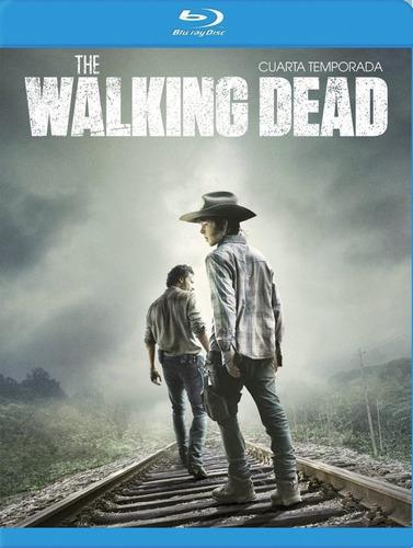 walking dead paquete temporadas 1 2 3 4 blu-ray
