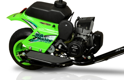 walkmachine  37cc verde zero km