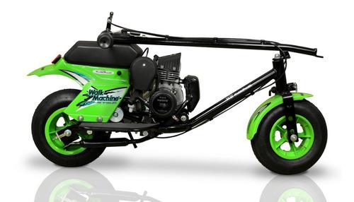 walkmachine  37cc verde zero km